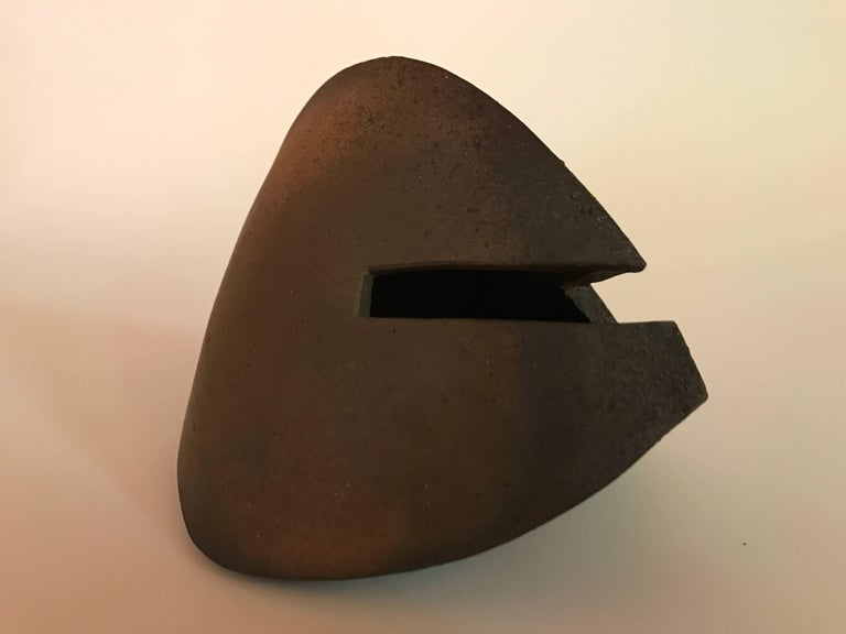 Malcolm Wright Abstract Wood-Fired Clay Sculpture 6
