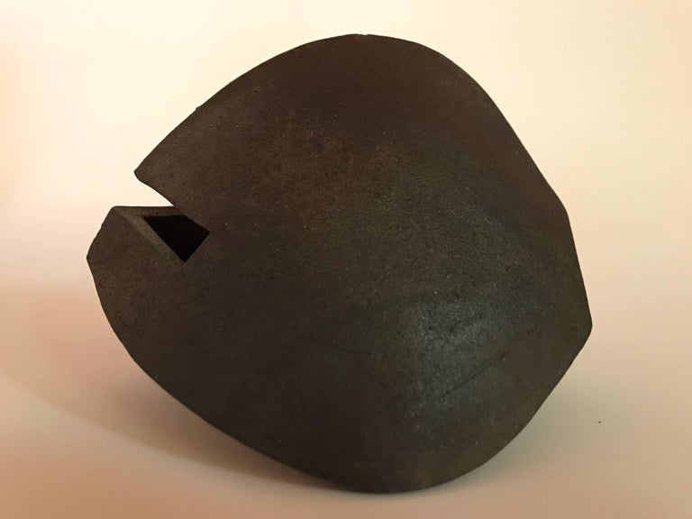 Malcolm Wright Abstract Wood-Fired Clay Sculpture 7