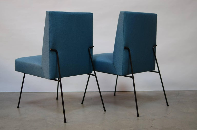 California Iron Dining Chairs In Excellent Condition For Sale In San Francisco, CA