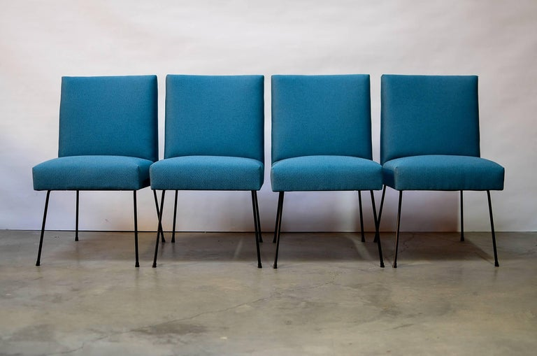 Modern California Iron Dining Chairs For Sale
