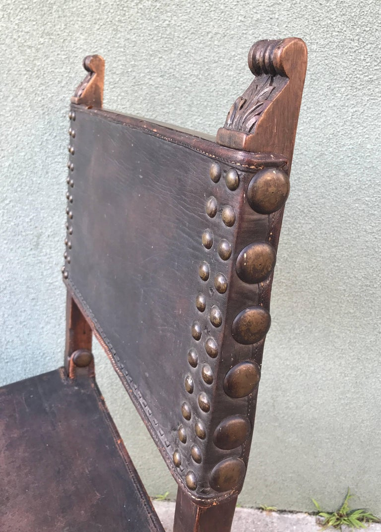 Spanish Revival Side Chair, 1920s 3