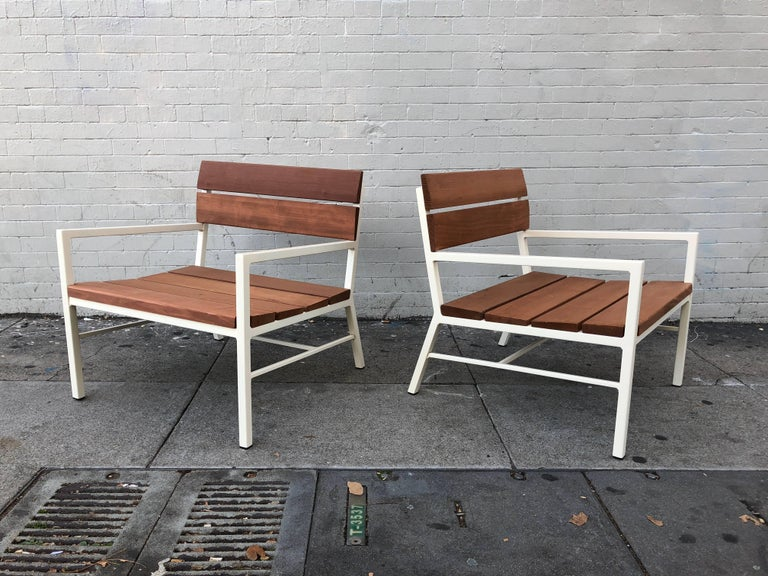 Van Keppel and Green Redwood Lounge Chairs, circa 1960s, California 2