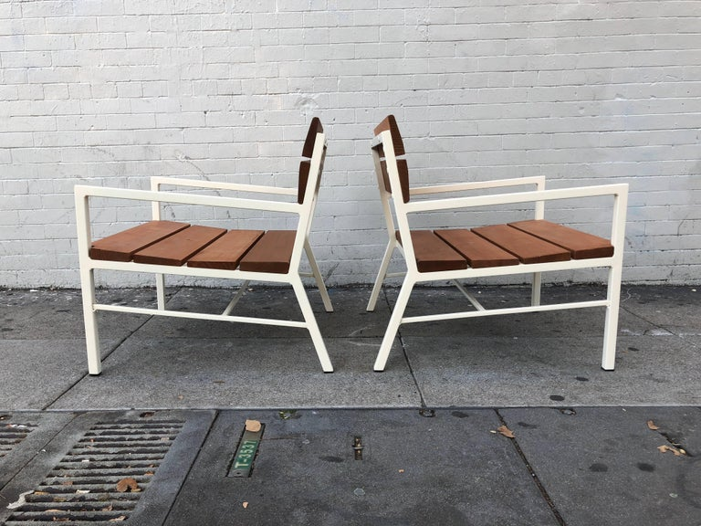 Van Keppel and Green Redwood Lounge Chairs, circa 1960s, California 5