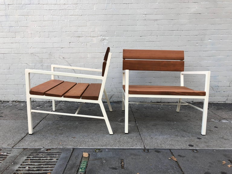 Van Keppel and Green Redwood Lounge Chairs, circa 1960s, California 6