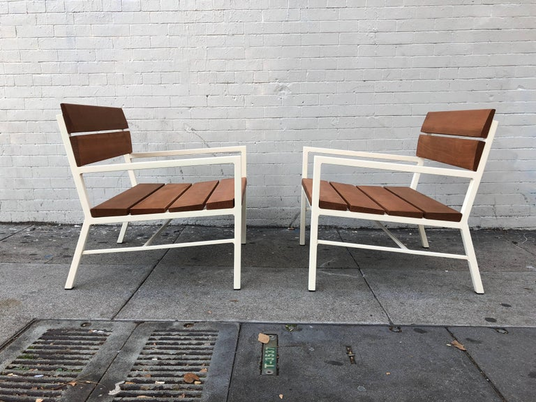 Van Keppel and Green Redwood Lounge Chairs, circa 1960s, California 7