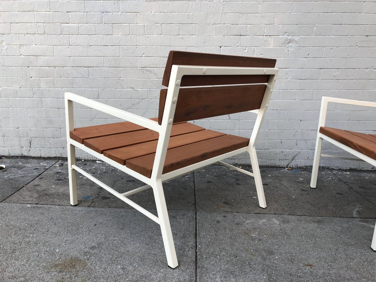 Van Keppel and Green Redwood Lounge Chairs, circa 1960s, California 9