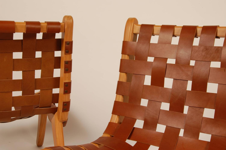 Bauhaus trained michael van beuren san miguelito lounge for Bauhaus chaise lounge