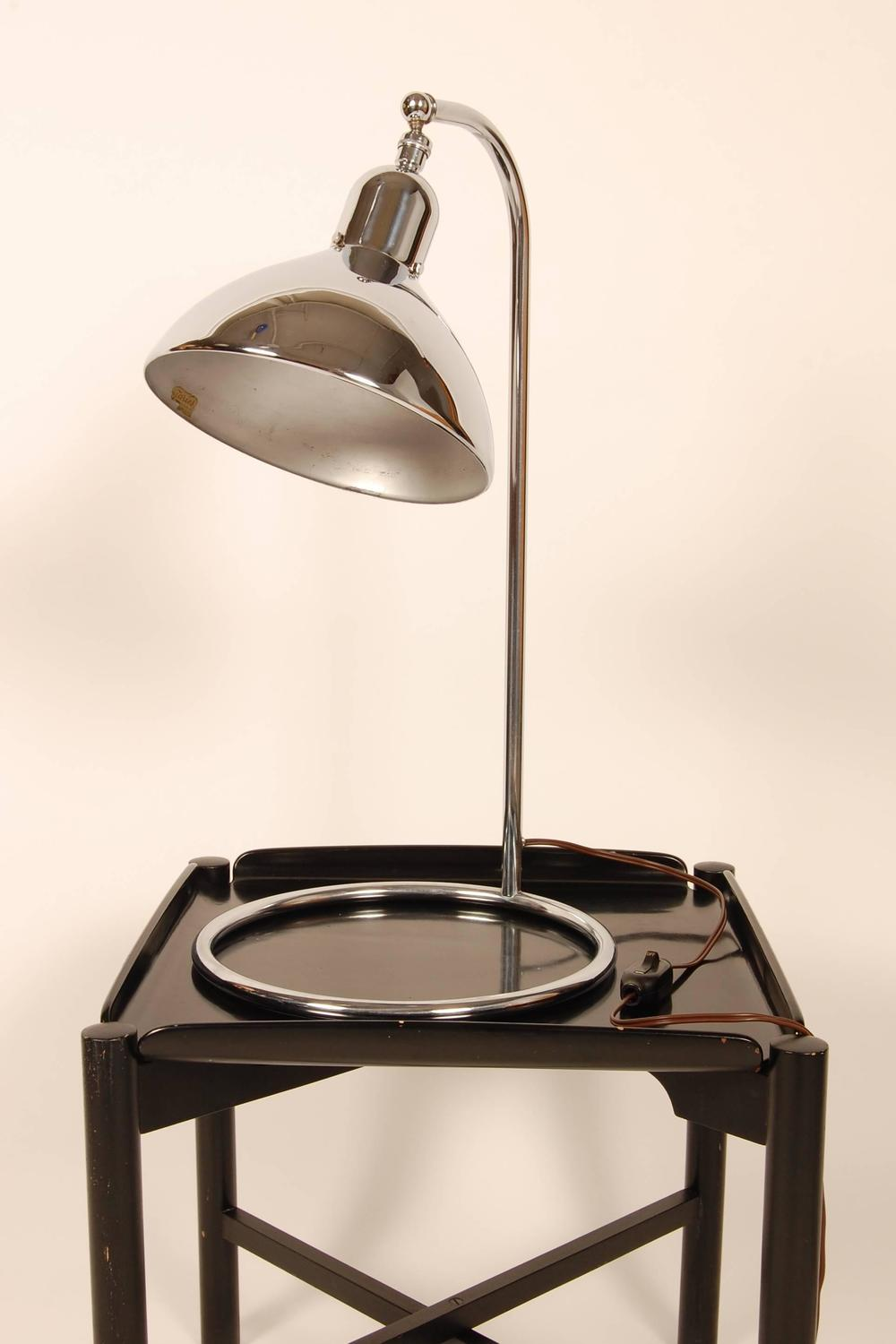 Jewelers machine age table lamp at 1stdibs for Chair table lamp yonge st