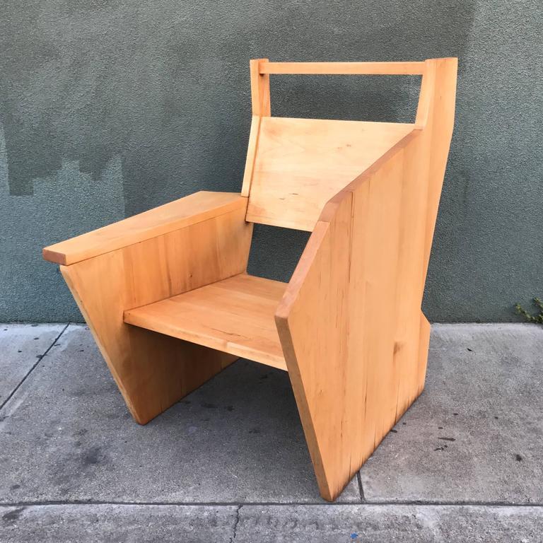 Bauhaus Style Constructivist Armchair  3