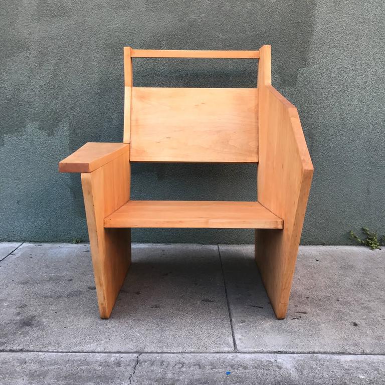 Bauhaus Style Constructivist Armchair  4