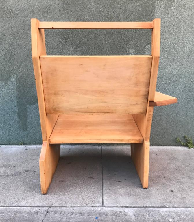 Bauhaus Style Constructivist Armchair  5