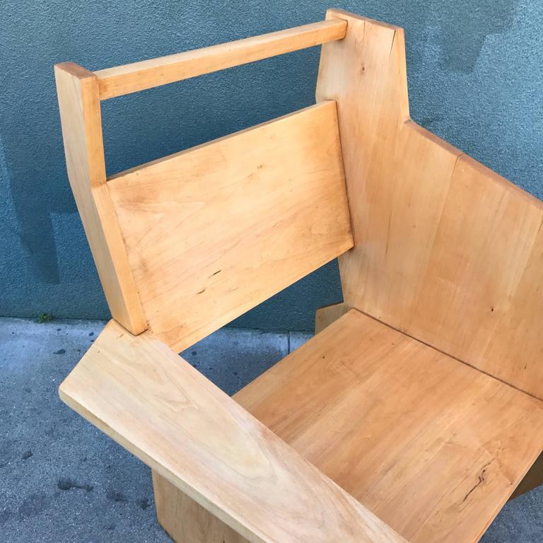 Bauhaus Style Constructivist Armchair  8