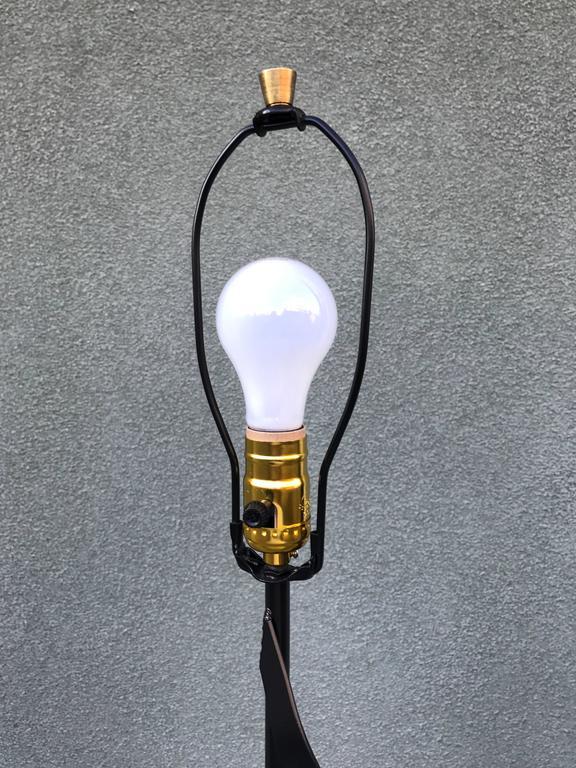 Modernist Spiral Floor Lamp, 1950s 6