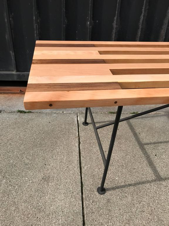 Custom Slat Bench or Coffee Table 6