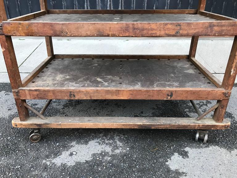 1920s-1930s Shoe Rack or Cart 9