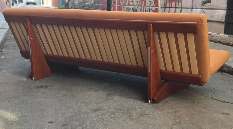 1970s Convertible Danish Sofa or Daybed 5