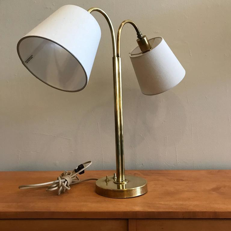 Handmade Brass Table Lamp by Norman Grag California Design 4