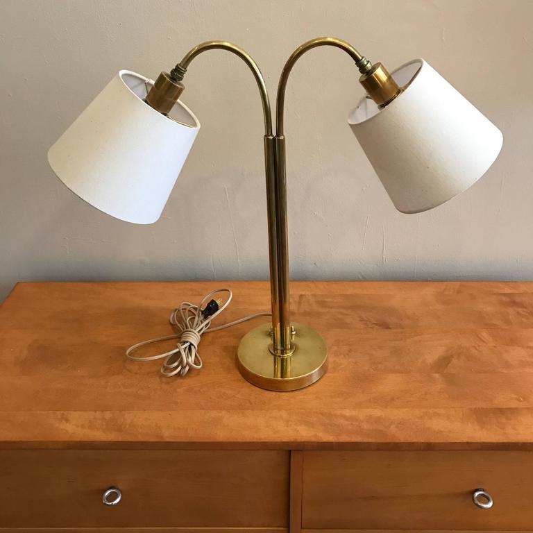 Handmade Brass Table Lamp by Norman Grag California Design 3