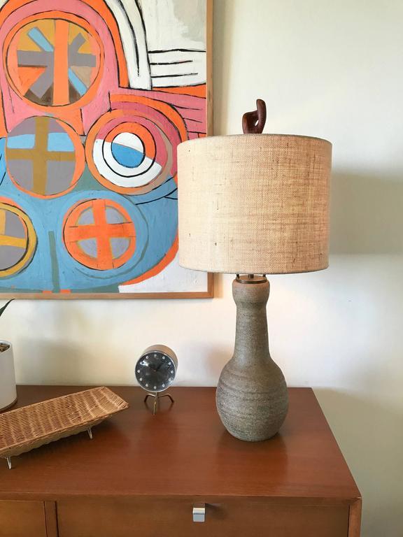 California Studio Ceramic Lamp by Veron Corky Coykendall 10
