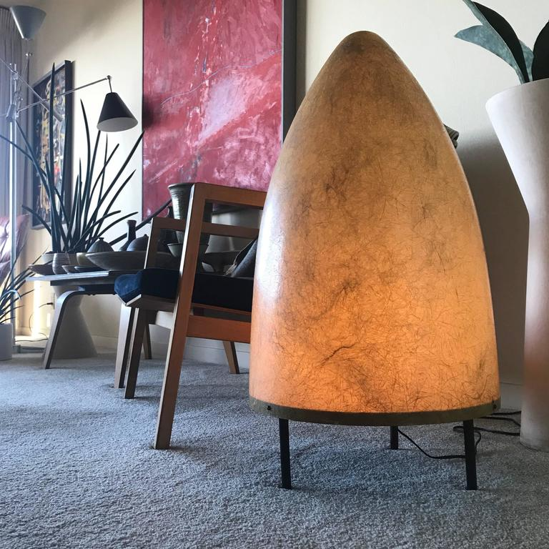 1950s California Modernist Fiberglass Floor or Table Lamp 10