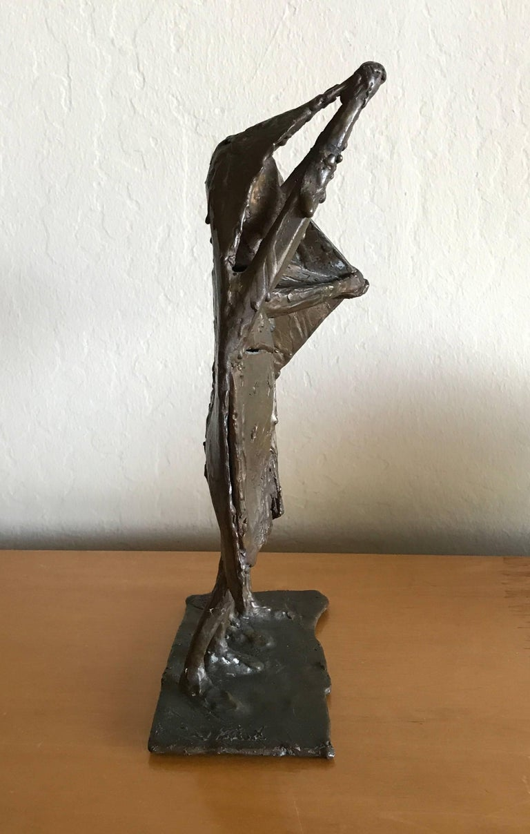 Bay Area Bronze Surrealist / Brutalist Figurative Sculpture 5