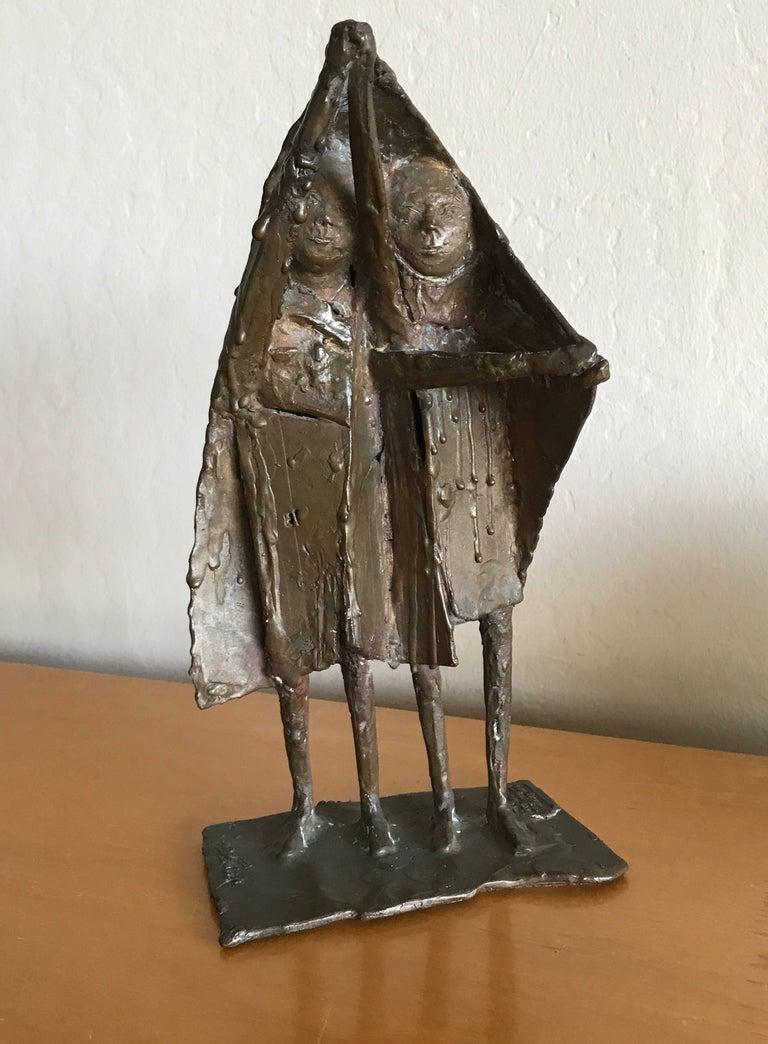 Bay Area Bronze Surrealist / Brutalist Figurative Sculpture 10