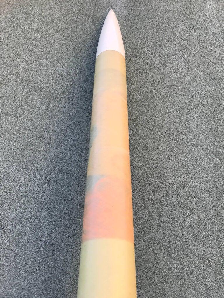 1970s Large Working Fiberglass Model Rocket Aerospace 3