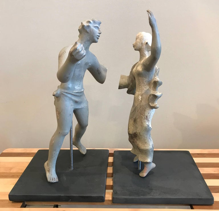 1930s Sculpture / Maquette Dancers, 1939 San Francisco Worlds Fair 2
