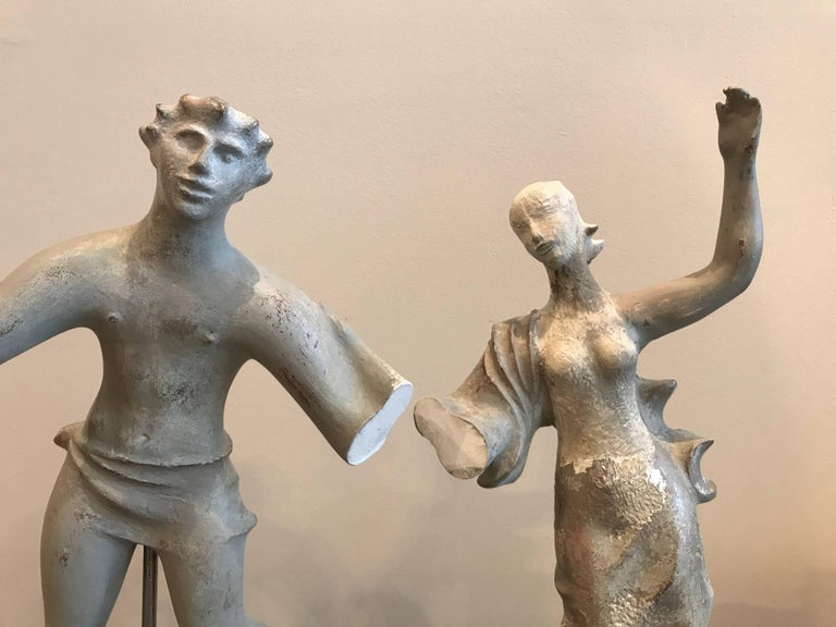 1930s Sculpture / Maquette Dancers, 1939 San Francisco Worlds Fair 5