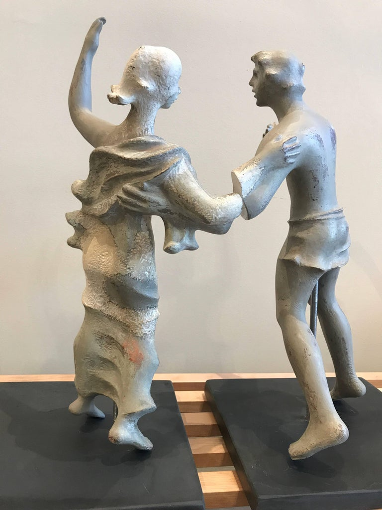 1930s Sculpture / Maquette Dancers, 1939 San Francisco Worlds Fair 9