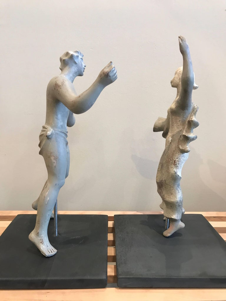 1930s Sculpture / Maquette Dancers, 1939 San Francisco Worlds Fair 10