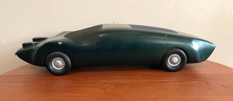 1970s Wooden Model Car Prototype GM Car of the Future 2