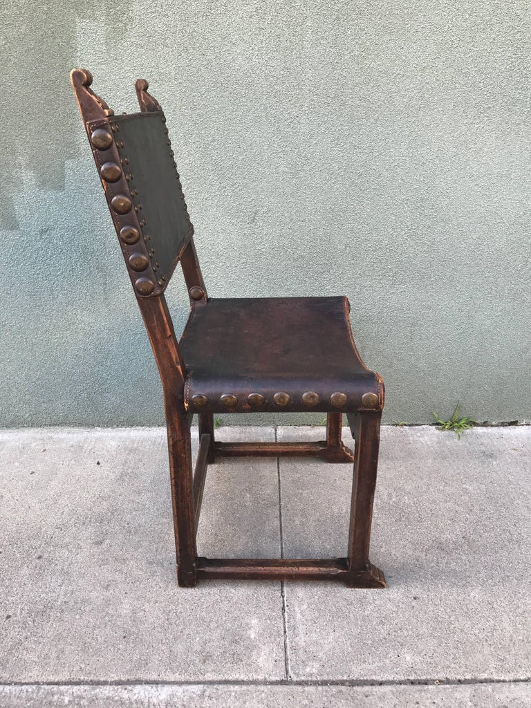 Spanish Revival Side Chair, 1920s 10
