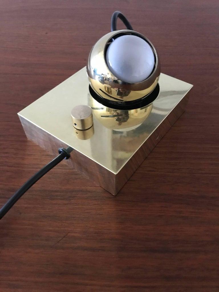 Arredoluce Eyeball Table or Wall Lamp by Angelo Lelli 4