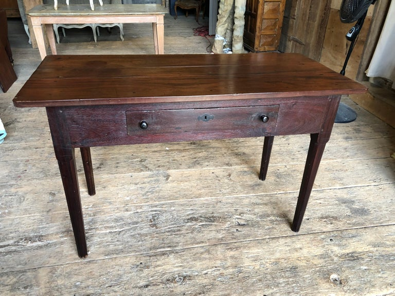 Regency English Colonial Serving Table in Cuban Mahogany, 19th Century For Sale