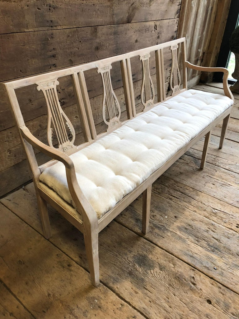 Neoclassic Bench, French, circa 1800 For Sale 6