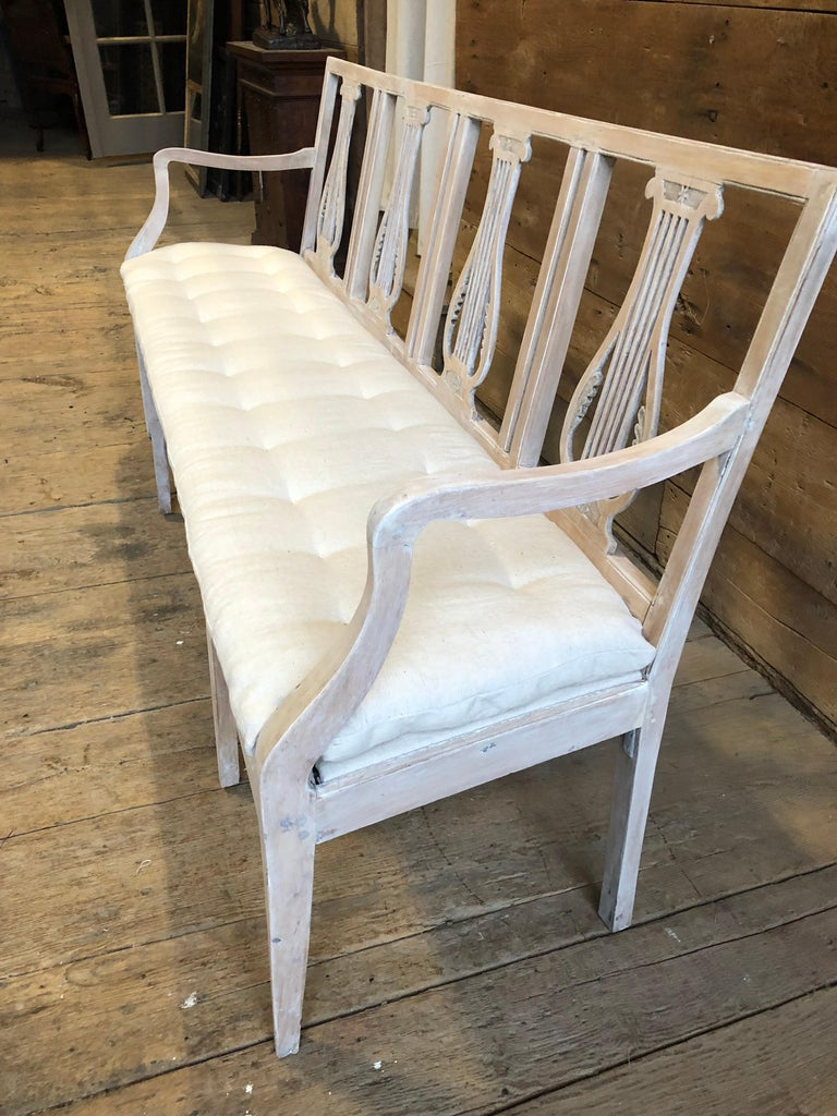 Neoclassical Neoclassic Bench, French, circa 1800 For Sale