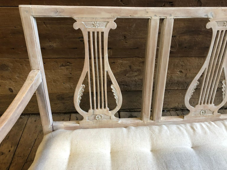 19th Century Neoclassic Bench, French, circa 1800 For Sale