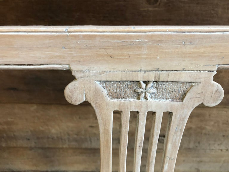 Neoclassic Bench, French, circa 1800 For Sale 1