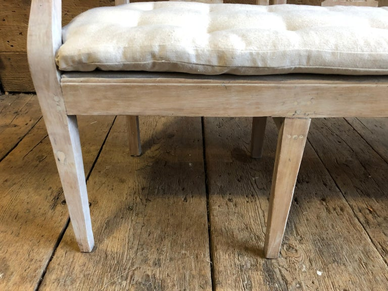 Neoclassic Bench, French, circa 1800 For Sale 3