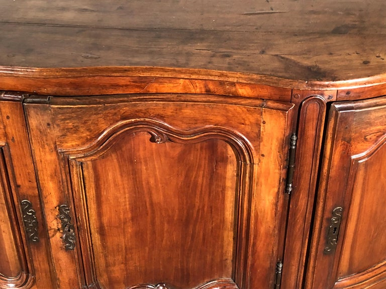 Louis XV Enfilade Buffet In Good Condition For Sale In Doylestown, PA