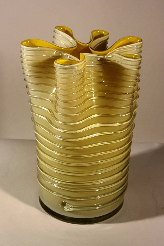 venetian art glass vase at 1stdibs. Black Bedroom Furniture Sets. Home Design Ideas
