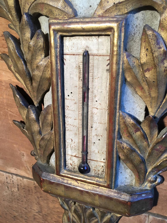 Rare French Revolution Era Barometer For Sale at 1stdibs