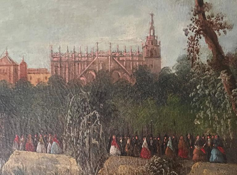 Spanish  Painting of Seville 3