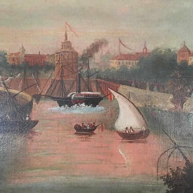 Spanish  Painting of Seville 4