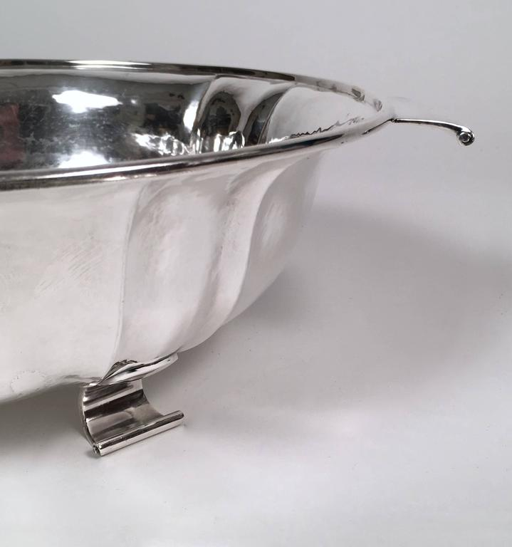 Swiss Silver Covered Tureen by Baltensperger, circa 1920s For Sale 1