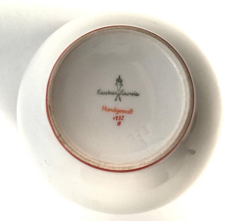 Art Deco German Porcelain Vase, circa 1930 For Sale 2
