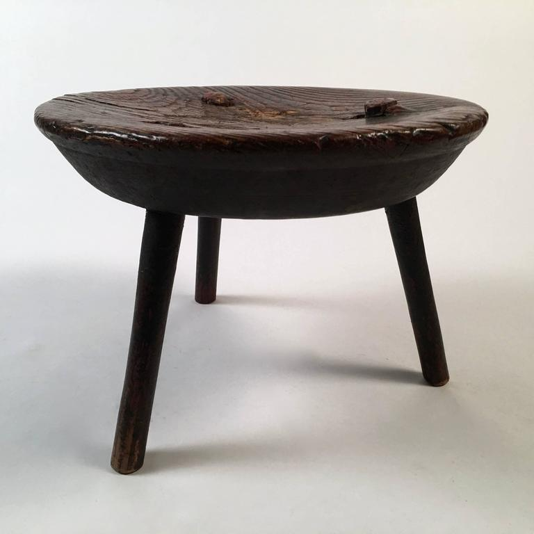 18th Century Milking Stool Or Low Occasional Table At 1stdibs