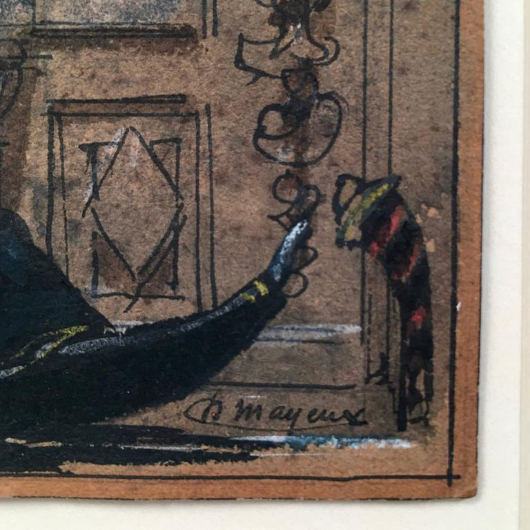 Henri Mayeux Pastel of Venice 5
