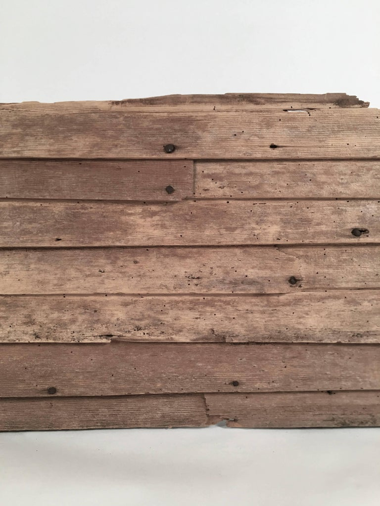 18th century architectural clapboard fragment for sale at for How big is a square of siding